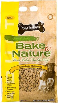 Three Dog Bakery Partridge Creek - The Bakery for Dogs - All Natural, Fresh-Baked, Ultra Premium Dog Food, and Treats for Dogs